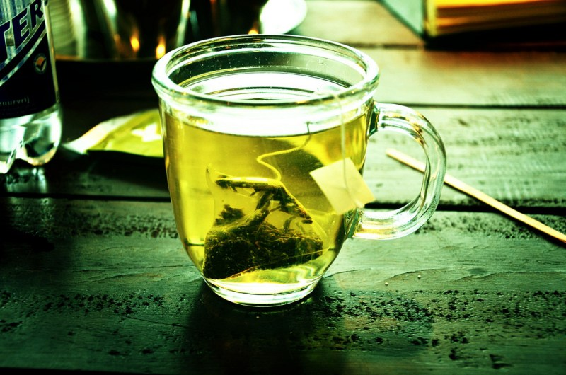 Green tea is a recommended part of the Paleo diet.