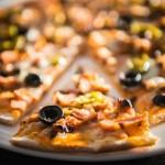 The flatbread Pizza