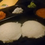 The idlis were soft, spongy and very porous!