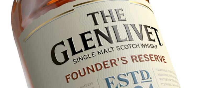 The Glenlivet, Founder's Reserve, Single Malt, Scotch Whisky, Whiskey, Scotland