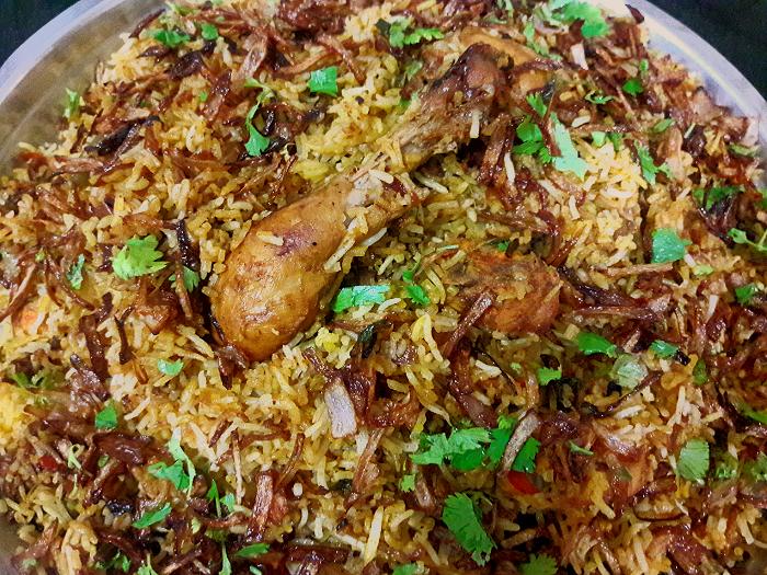 Chicken biryani kerala muslim style - photo#40