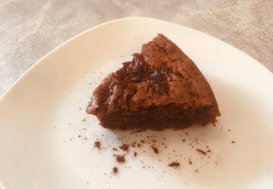 Eggless Chocolate Cranberry Cake