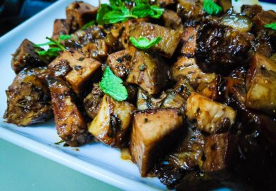 Roast Pork with Green Beans